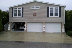 Exterior Garage Enclosure
